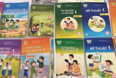 Phê duyệt thêm 7 sách giáo khoa lớp 1